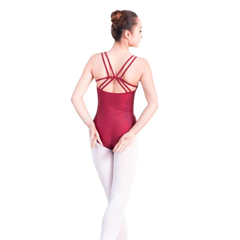 56b89a9f0c New Arrival Summer Adult Ladies Girls Ballet Dance Leotard Sexy Camisole  Bodysuit Ballet Gymnastics Leotards Dancewear For Women-in Ballet from  Novelty ...