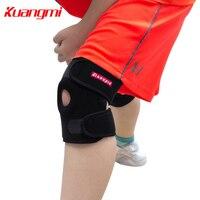 Kuangmi 1 ST Tiener Knee Protector Verstelbare Basketbal Kids Sport Knie Pad Kinderen Knie Ondersteuning Ski Skate Fietsen Guard
