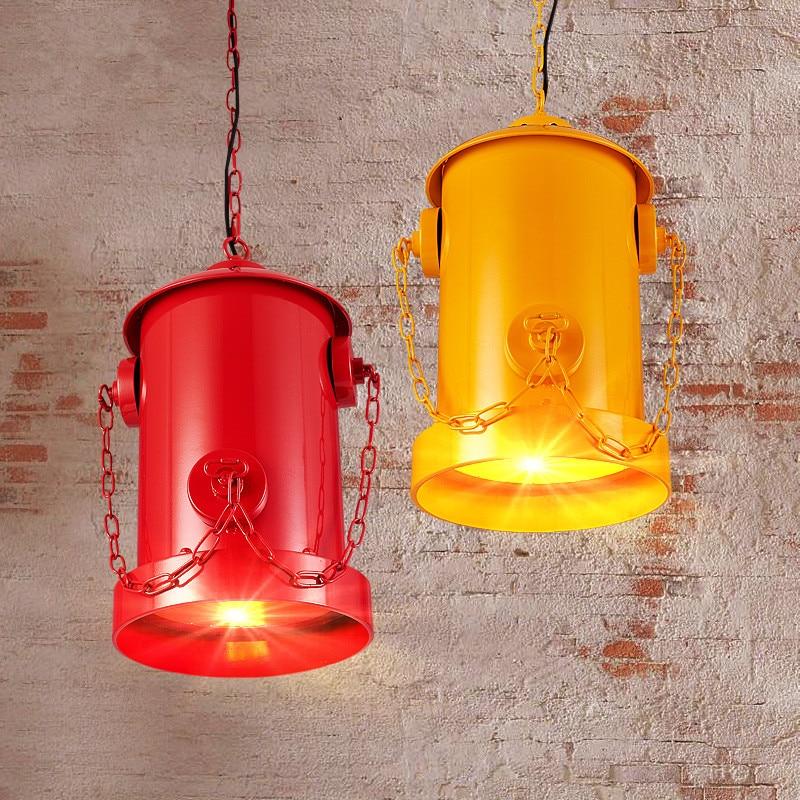Loft creative personality pendant lamp industrial pendant lights For Restaurant /Bar/Coffee Shop Home Lighting Luminarias