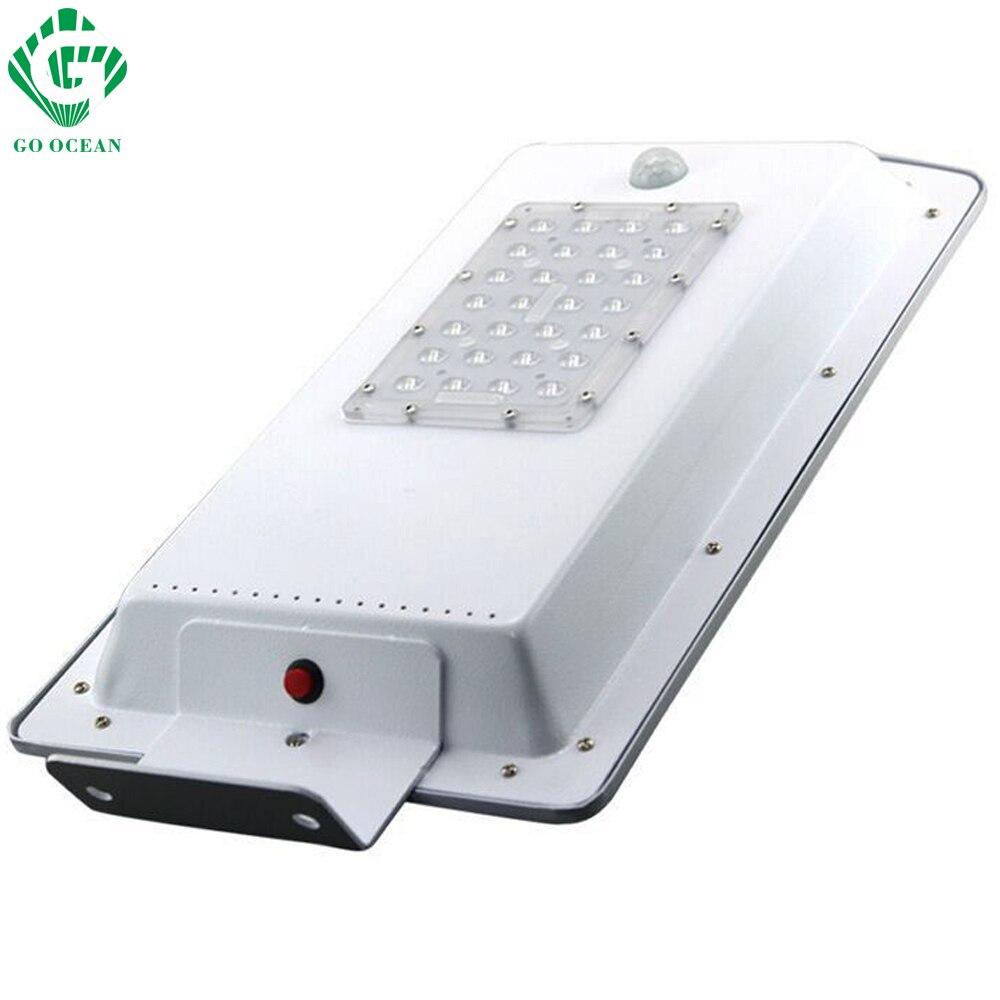 GO OCEAN Solar Lamps LED Solar Waterproof Wall Integrated LED Street Light Solar Lamp Motion Sensor Outdoor Garden Light (2)