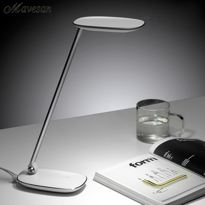 Portable USB Charge 3-grade Brightness Adjustable  Led Study Reading Desk Lamp, Eyes-protectable Novelty Gift Reading Table Lamp yage desk lamp book reading night light colorful lamp for study non limit brightness 34pcs led 3 modes lamp eu usa uk plug