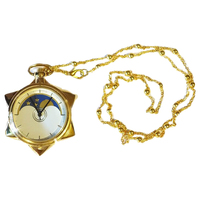 PCMOS 2016 New Sailor Moon 20th Anniversary Crystal Star Pocket Watch Necklace Pendant Cosplay Free