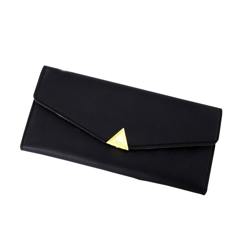 Luxury Design Women Wallets Long Purse Credit Card Holder Simple Style Ladies Casual Leather Wallet carteira feminina casual weaving design card holder handbag hasp wallet for women