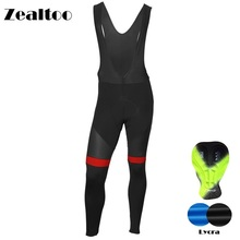Zealtoo Outdoor Mens Cycling Long Pants Spring Autumn Breathable Trousers Padded MTB Bike Tights Bicycle Rding Clothing