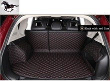 Topmats special car trunk mat for Infiniti QX80 / QX56 all weather mats custom fit cargo mats car cargo liner trunk liners