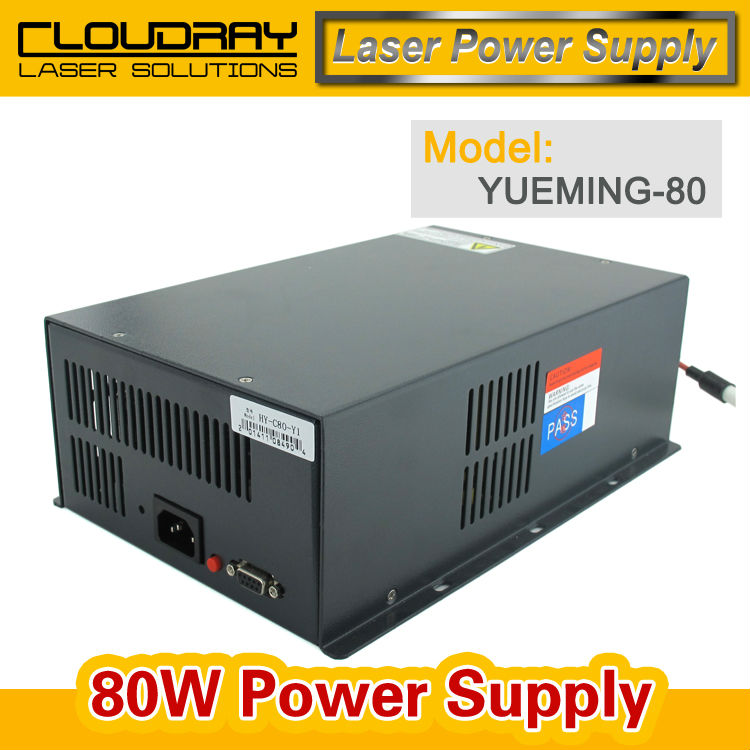 Co2 Laser Power Supply 80W For YUEMING Engraving Cutting Machine