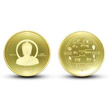 Nepalese Buddha Statue Collection Commemorative Coin Home Decoration Collectible Coin Home Decoration Gold Collectible Coins недорого