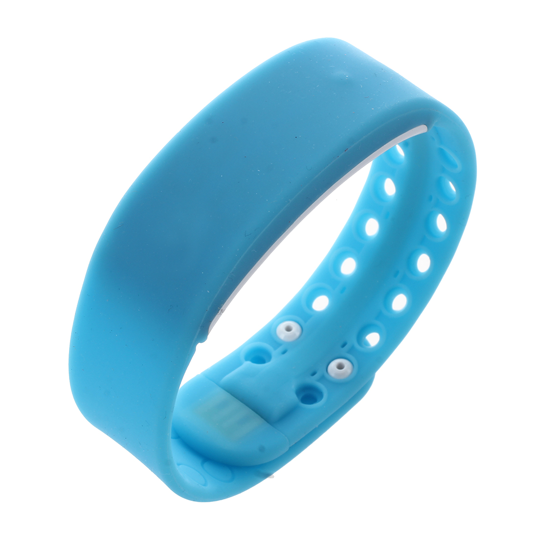 New Waterproof Movement Health Pedometer Sleep Monitoring Smart Bracelet Watches blue