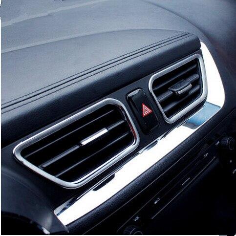 7 pcs/ensemble Car le style ABS Chrome Voiture Air Vent cover version Décoration cadre Fit Pour KIA RIO K2 2011-2016, accessoires de voiture