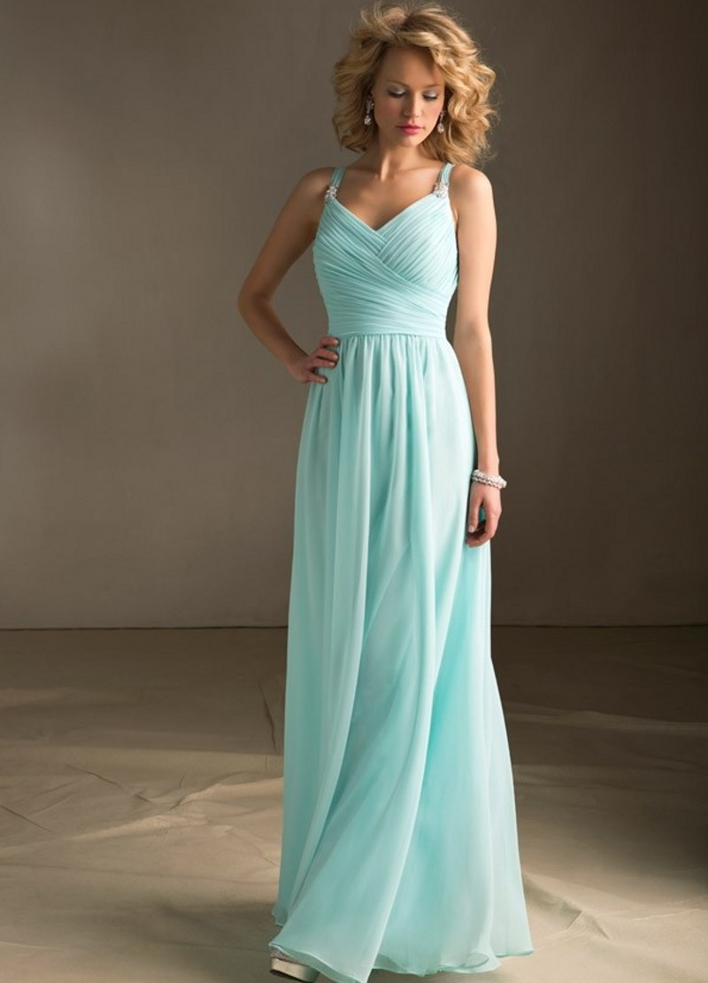 Compare Prices on Ice Blue Long Bridesmaid Dress- Online Shopping ...