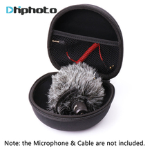 AriMic Hard Protecting Case for  VideoMicro Microphone ,AriMic EVA Hard Travel Case Carrying Bag for  VideoMic Me