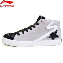 (Break Code) li Ning Sport Leven Terug Ster Hi Vrouwen Lifestyle Schoenen Sneakers Voering Li Ning Stijlvolle Sportschoenen GLKM176 YXB094