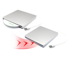[Ship from Local Warehouse]USB 2.0 Optical Drive Slot Load External DVD RW Burner CD ROM Player Writer for Apple Macbook Laptop