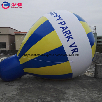 PVC inflatable advertising balloons customized logo commercial inflatable blimp helium balloons for sale for rental fireworks advertising inflatable helium blimp air flying helium balloon for sale
