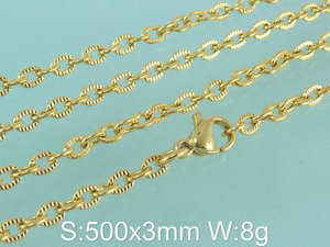 Image 3 - Accessories Hot Selling Wholesale Stainless Steel Fashion Necklace For Women Girl Costume Jewelry NFHAACEP