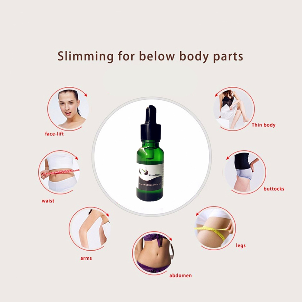 Slimming Losing Weight Coconut Oils Thin Leg Waist Hip lifting Fat Burning Pure Natural Coconut Essential Oil Weight Loss in Essential Oil from Beauty Health