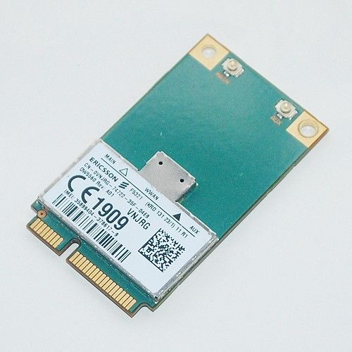 US $13 99 |F5321GW DW5560 Broadband Mobile 3G PCI E WWAN Card for Dell  Latitude E5430 E5530 E6230 E6330 E6430ATG E6530 Vostro 3460 Laptop-in 3G  Modems
