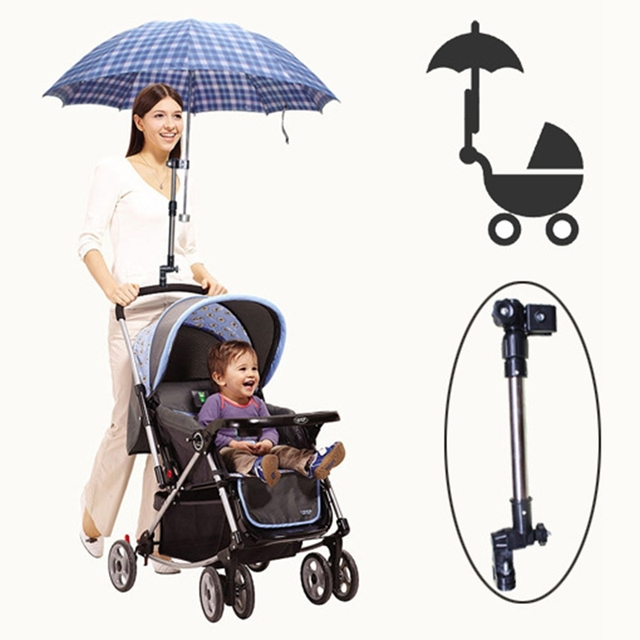 baby stroller pram umbrella stand holder adjustable plastic baby Parasol Holder