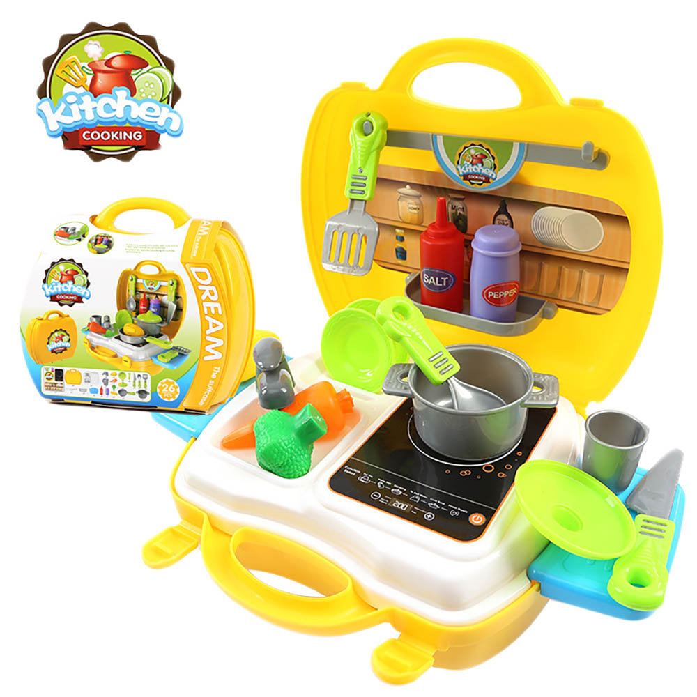 1 set Educational Toy Play Set Repair Tool Cooking Cash Register Learning Pretend Play T ...