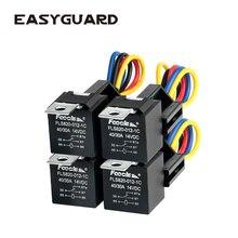 EASYGUARD SPDT автомобильное реле с гнездами провода DC12V 30/40 AMP 5-pin