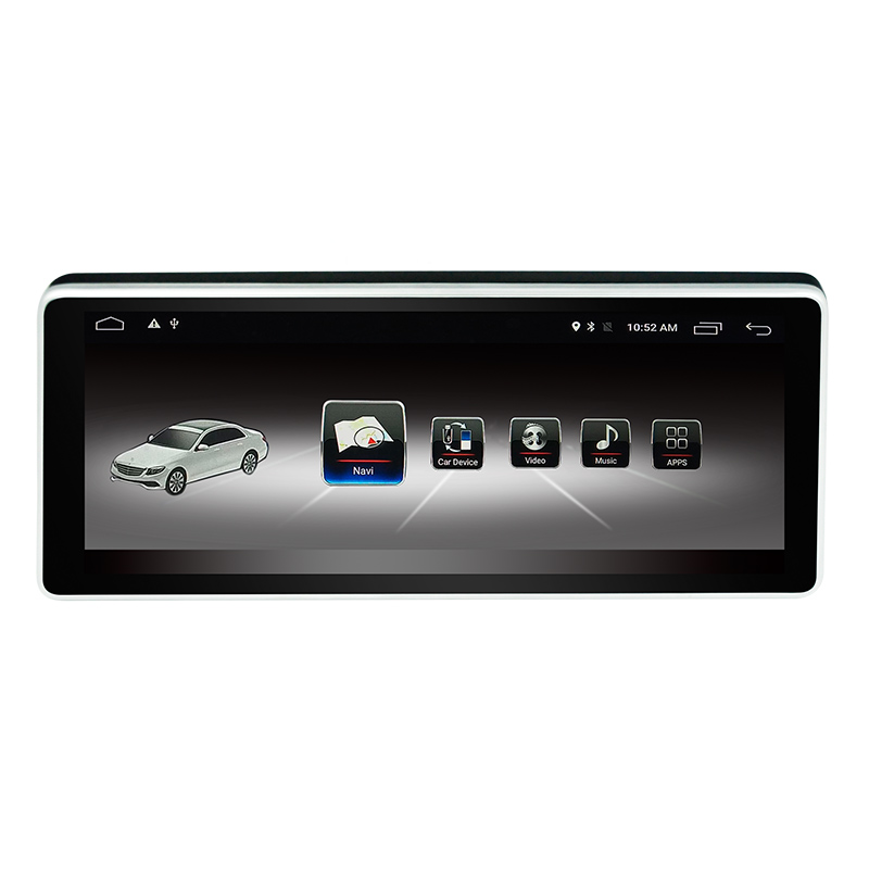 Vehicle Android 7.1 Car <font><b>GPS</b></font> Navigation for Mercedes Benz C Class <font><b>W204</b></font> 2011 to 2014 10.25
