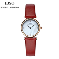 High Quality Ladies Watch Quartz Women Ultra Thin Stainless Steel Leather Strap Watch Dress Women Watches