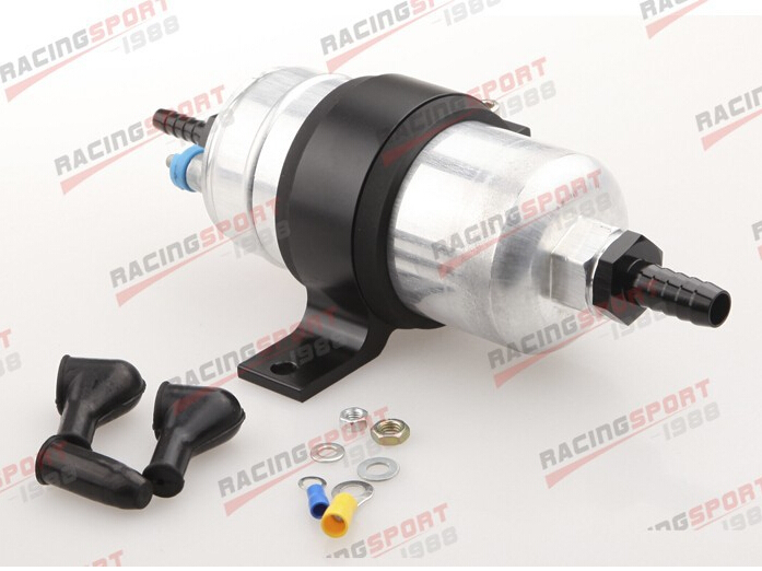 External Fuel Pump 044 +Billet Bracket black+3/4