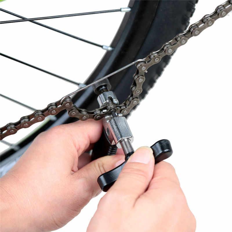 Велосипедные цепи резак для горного велосипеда Инструменты для ремонта велосипеда части стальной цепи крюк выключатель сплиттер цепь для ремонта устройства