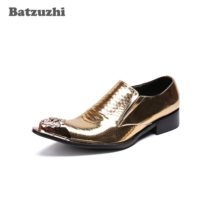 6958193fc0ff8 Batzuzhi-de-lujo-para-Hombre-Zapatos-de-dedo-del-pie-de-oro-Zapatos -de-vestir-de.jpg