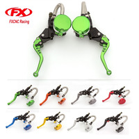FXCNC CNC 7 8 22MM Universal Adjustable Moto Motorcycle Hydraulic Clutch Brake Levers Master Cylinder For