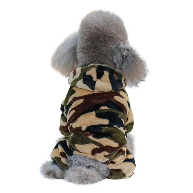 Ấm Ngụy Trang Chó Áo Khoác Mùa Đông Lông Cừu Cho Thú Cưng Quần Áo Thời Trang cho Chi Nhỏ Chó Lớn