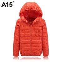 A15 Girls Clothes 2017 Spring Autumn Fashion Children Outerwear Warm Coat Kids Jacket For Boy Teenage