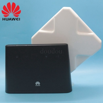 Unlocked Huawei B310 B310s-22 150Mbps with Antenna 4G LTE CPE WIFI ROUTER Modem with Sim Card Slot Up to 32 WiFi Devices