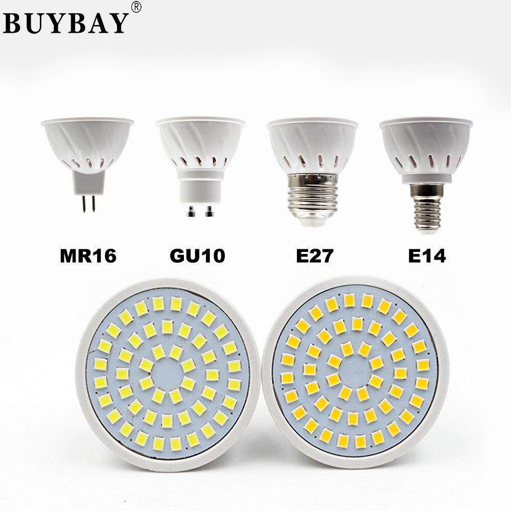 Buybay e27 e14 mr16 gu10 lampada led bulb 220v bombillas - Bombilla led gu10 ...