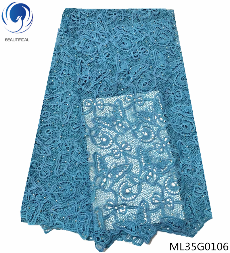 BEAUTIFICAL sky blue guipure lace fabric milk silk lace fabrics butterfly patterns cord laces nigerian lace fabrics ML35G01BEAUTIFICAL sky blue guipure lace fabric milk silk lace fabrics butterfly patterns cord laces nigerian lace fabrics ML35G01