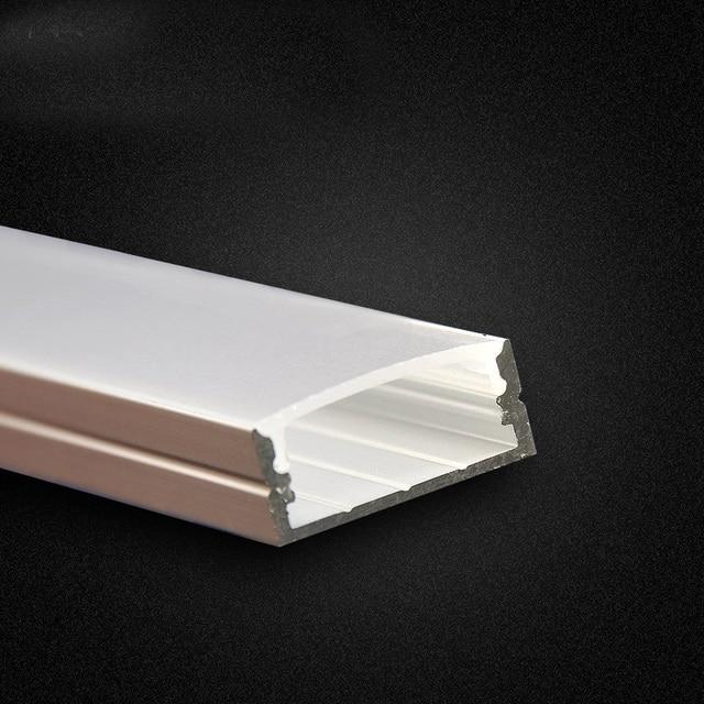 Flat led aluminium profile 1m 2m for double row pcb led light strip flat led aluminium profile 1m 2m for double row pcb led light strip 20mm alu u aloadofball Choice Image
