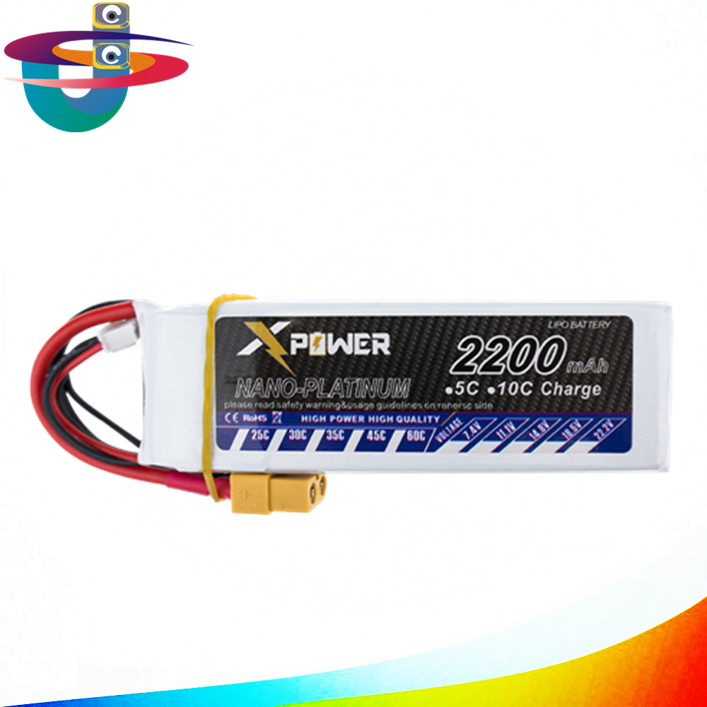 3S lipo 3s battery 11.1v 2200mAh 30C-60C For Trex-450 Fixed-wing RC Helicopter Car Boat quadcopter 1s 2s 3s 4s 5s 6s 7s 8s lipo battery balance connector for rc model battery esc