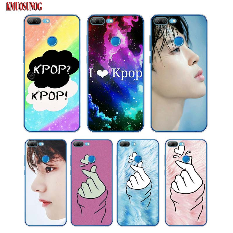 Soft Silicone Phone Case I love kpop forever for Huawei <font><b>Honor</b></font> 7A 7C 8 8A Pro 8C 8X <font><b>9</b></font> 9N 10 V20 V9 <font><b>Lite</b></font> Cover image
