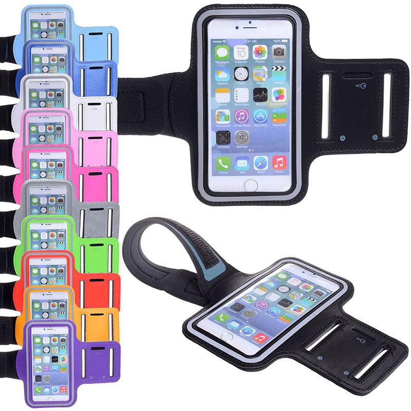 Sports Running LED Waist Belt Jogging Gym Bag Case Cover Holder For Mobile phone