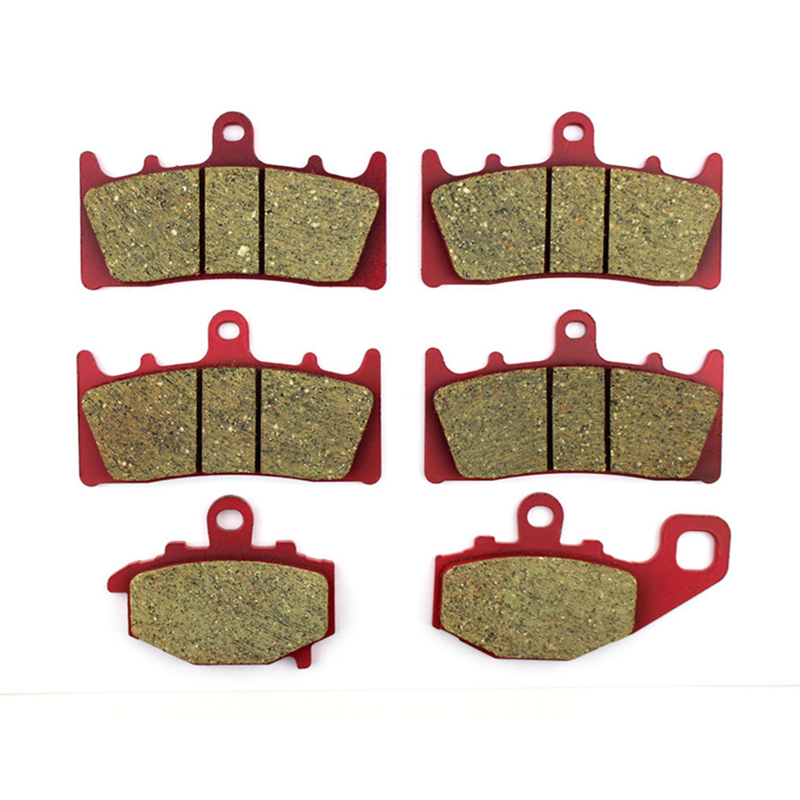 CARBON CERAMIC ROAD BRAKE PADS Front+Rear For KAWASAKI ZX6R A1 (ZX 636) 2002 ZX-9R 1996-2001 ZZR 600 J 05-08 ZX 600 1998-2002 motorcycle front rear brake pads for kawasaki gpx 600 r zx600 1988 1996 gpx 750 r zx750 1987 1989 zr750 1991 1995 zx100 zx10 p04