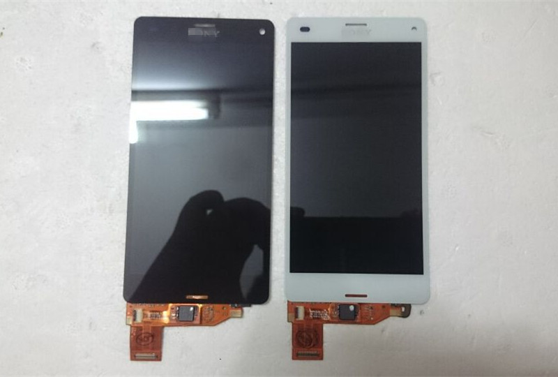 For Sony Xperia Z3 Compact M55W D5833 D5803 LCD Display With Touch Screen Digitizer assembly Free