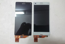 For Sony Xperia Z3 Compact M55W D5833 D5803 LCD Display With Touch Screen Digitizer assembly  Free black or white