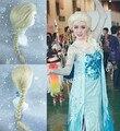 Парики 2014 новое поступление эльза парик Fronzen снежная королева эльза косплей бесплатная доставка