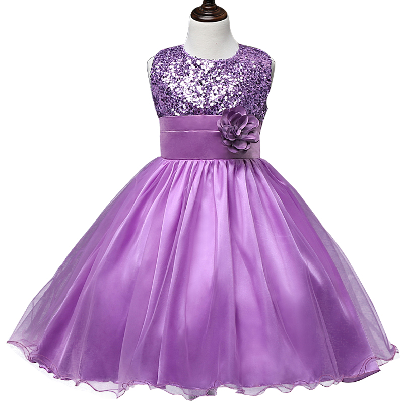Flower teenagers kids evening party dresses for girl for Dresses for teenagers for weddings