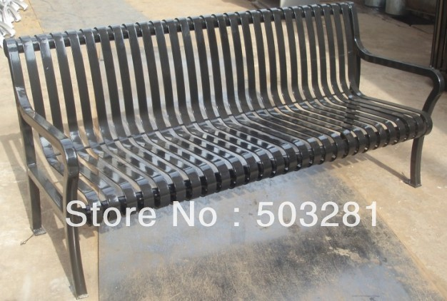 Outdoor Metal Park Benches Sales To Usa