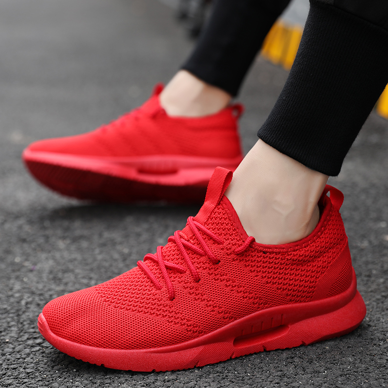 94dd66cfd9 MAYLEN HUGHES Light Sneakers Shoes for Men Breathable Outdoor Athletic Male  Shoes Trainers 2018 Zapatillas Deportivas