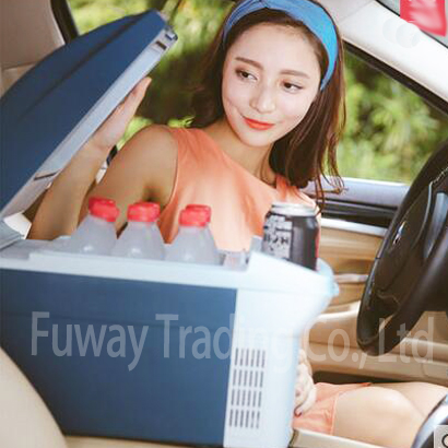 Free Shipping!Car Mini Fridge Portable 12V 6L Auto Travel Refrigerator Quality ABS Multi-Function Home Cooler Freezer Warmer цены