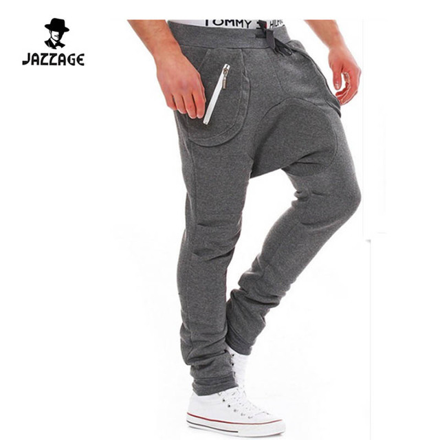 2016 Homens calças Compridas Mens treino ofegar Calças sweatpants casual calças de fitness calças justas FWFAA1
