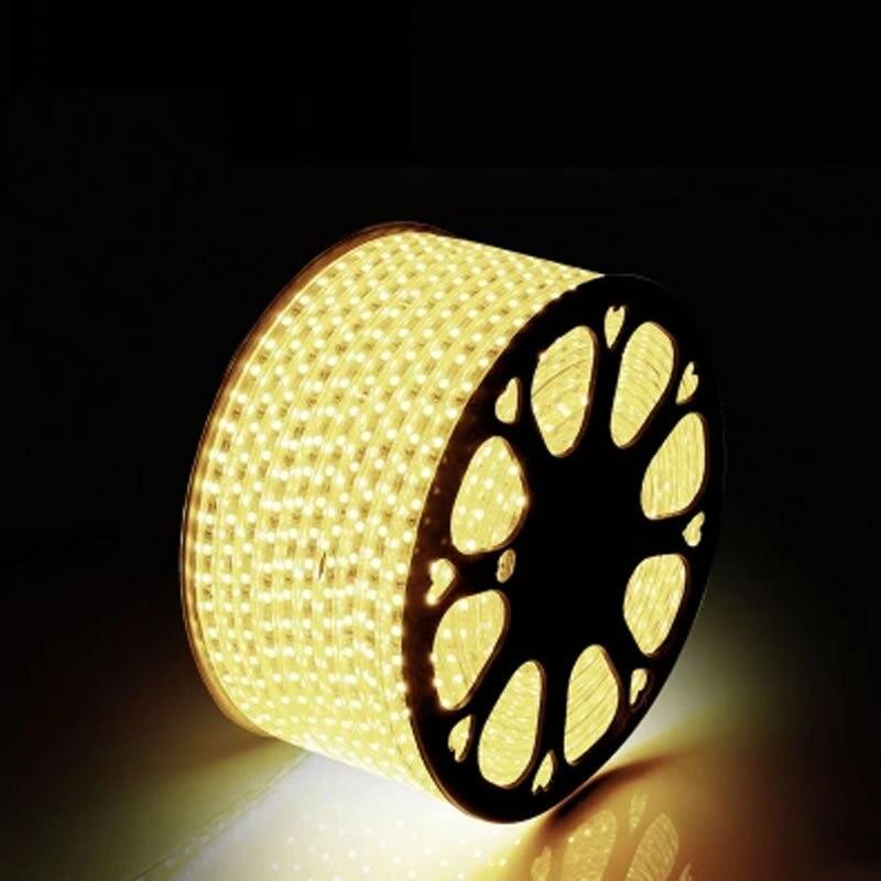 AC 220V светодиод 3014 120лл / м су - LED Жарықтандыру - фото 3