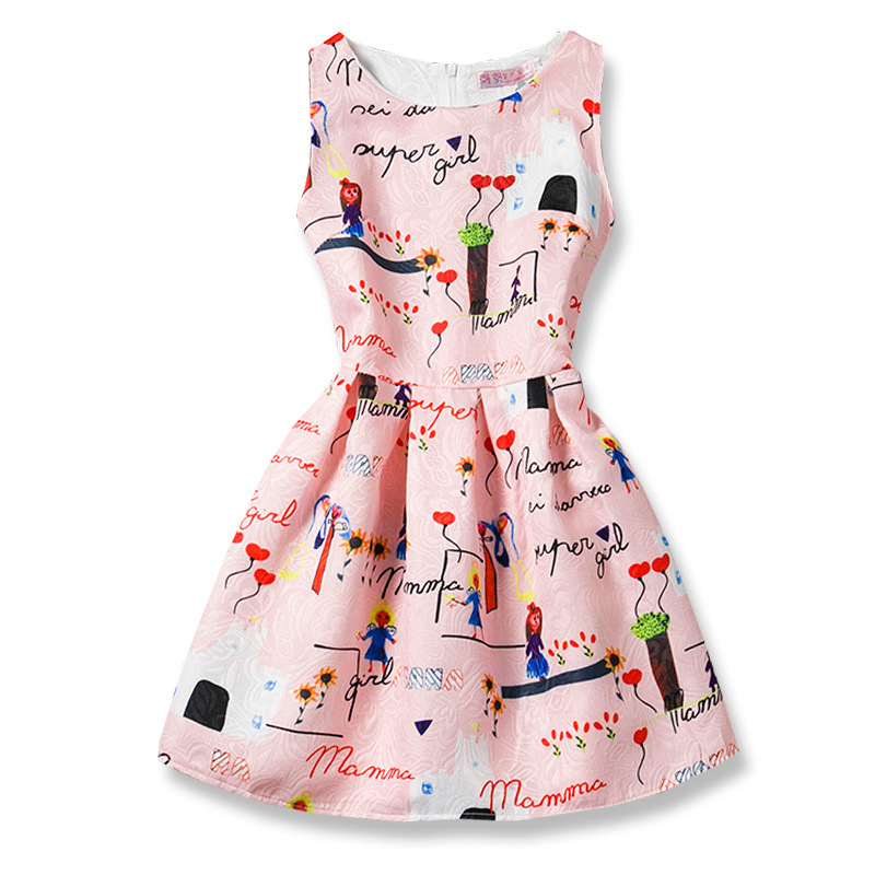 Summer Baby Girl Dress Baby Girl Clothes Newborn Baby Clothes Lovely Flower Roupas Bebe Infant Clothes Children Clothing